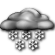 Mostly Cloudy with Chance of Very Light Snow